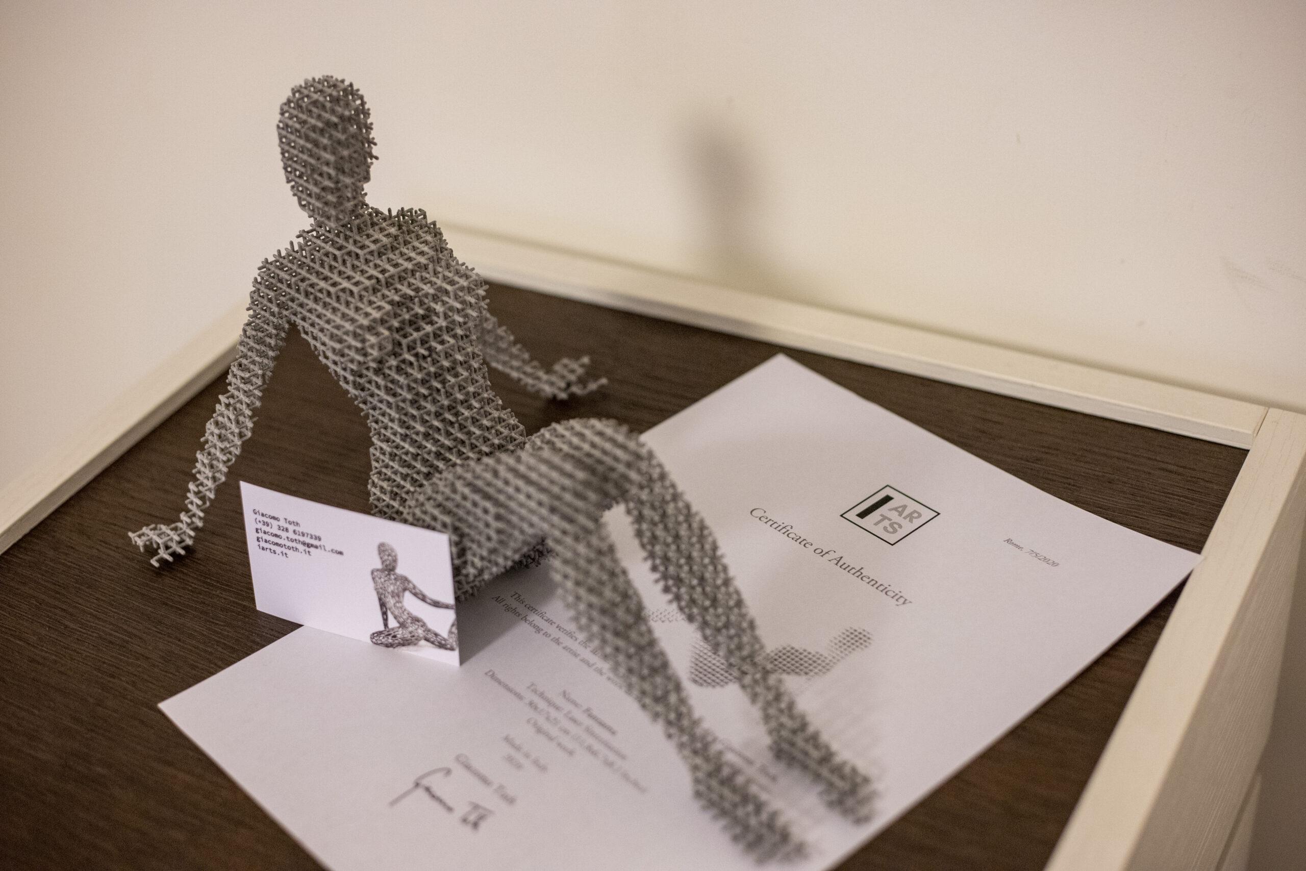 Fantasma scultura 2 Giacomo Toth